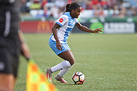 Portland, OR - Saturday August 19, 2017: Nichelle Prince during a regular season National Women's Soccer League (NWSL) match between the Portland Thorns FC and the Houston Dash at Providence Park.