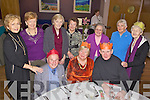 Xmas Lunch - Pictured having a wonderful time at the Spa/Fenit/Churchill Annual Seniors Christmas Party held in The Ballyroe Heights Hotel on Sunday were l/r Mark O'Brien, Deidre O'Mahony and Fr. Denis O'Mahony, standing l/r Rita Scroope, Anne Cahill, Mairi?n Donnelan, Mary O'Sullivan, Emily McGillicuddy, Maraquita Blenner-Hasset and Eileen McCarthy.