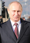 Russian President Vladimir Putin during the Italo-Russian intergovernmental meeting in Trieste, on November 26, 2013.  <br /> <br /> &copy; Pierre Teyssot