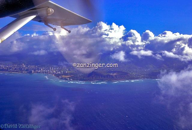 Diamond Head Hawaii Honolulu Aerial