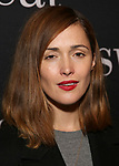 "Rose Byrne attends the Broadway Production of  ""Sweat"" at studio 54 Theatre on March 26, 2017 in New York City"