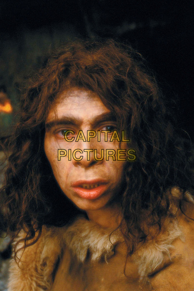WALKING WITH CAVEMEN    TV, 2003.Hominid: Homo Neandethalensis .Common name: Neanderthal.Female neanderthal in cave.Filmstill - Editorial Use Only.Ref: FB.sales@capitalpictures.com.www.capitalpictures.com.Supplied by Capital Pictures.