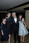 MARY JO, EMILY, CALEB & ZOOEY DESCHANEL. Arrivals to the 24th Annual American Society of Cinematographers Awards, at which Caleb Deschanel received the Lifetime Achievement Award. At the Hyatt Regency Century Plaza Hotel. Los Angeles, CA, USA. February 27, 2010.