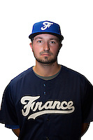 18 September 2012: Daniel Camou poses prior to Team France practice, at the 2012 World Baseball Classic Qualifier round, in Jupiter, Florida, USA.