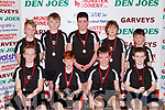 The Scoil Nuachabhail team that played in the Senior NS B  final at the St Mary's Basketball blitz in Castleisland on Sunday front row l-r: Dave Lucid, Jack Joy, Shane Guilroy, Ronan Moriarty. BAck row: Martin McKivergan, Con Sheahan, Luke Griffin, Donnachadh Enright and Shane Brosnan