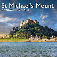 St Michael's Mount Island, Cornwall, England - Pictures Images Photos