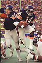 Chicago Bears Walter Payton (34) during a game from his career with the Chicago Bears. Walter Payton played for 13 years, all with the Bears, was a  9-time Pro Bowler and was inducted to the Pro Football Hall of Fame in 1993.(SportPics)