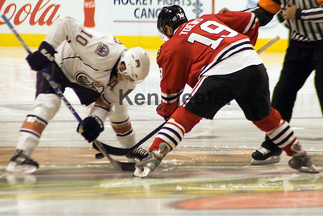 Chicago Blackhawks vs Edmonton Oilers Oct.22 2008.      <br /> <br /> All images available for sale contact photographer via email. Some sample photos are low res. jpeg for faster viewing.