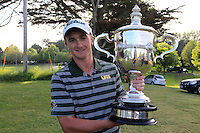 Paul Dunne winner of the East of Ireland Amateur Open Championship 2013 Co Louth Golf club 3/6/13<br />