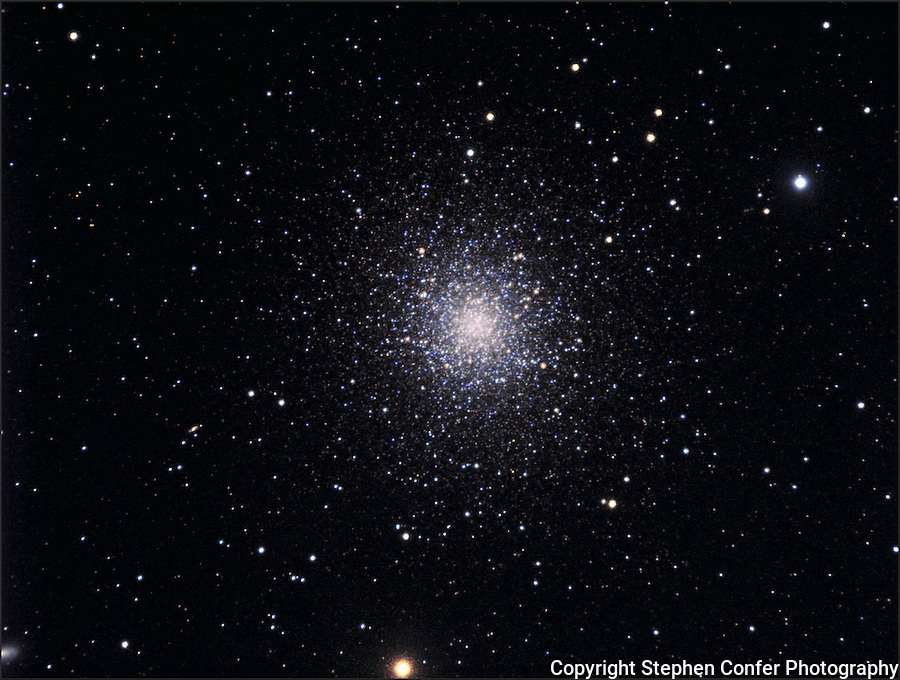star clusters, m13, m13 in hercules, astrophotograph