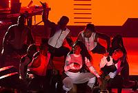 SÃO PAULO,SP, 10.08.2018 - SHOW-SP - A cantora Iza durante apresentação do seu show na Audio no bairro da Água Branca região oeste de São Paulo na noite desta sexta-feira, 10. Show de lançamento do CD dona de mim, com participações especiais dos cantores Rincon Sapiência, Glória Groove e Marcelo Falcão. (Foto: Anderson Lira/Brazil Photo Press)