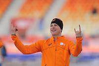 OLYMPICS: SOCHI: Adler Arena, 08-02-2014, 5000 m Men, podium, Sven Kramer (NED), ©foto Martin de Jong