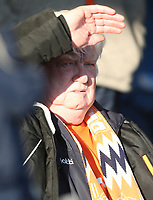 Blackpool fan<br /> <br /> Photographer Rob Newell/CameraSport<br /> <br /> The EFL Sky Bet League One - Southend United v Blackpool - Saturday 17th November 2018 - Roots Hall - Southend<br /> <br /> World Copyright &copy; 2018 CameraSport. All rights reserved. 43 Linden Ave. Countesthorpe. Leicester. England. LE8 5PG - Tel: +44 (0) 116 277 4147 - admin@camerasport.com - www.camerasport.com
