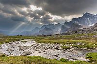 Aiyagomahala Creek, Arrigetch peaks, Gates of the Arctic National Park, Alaska