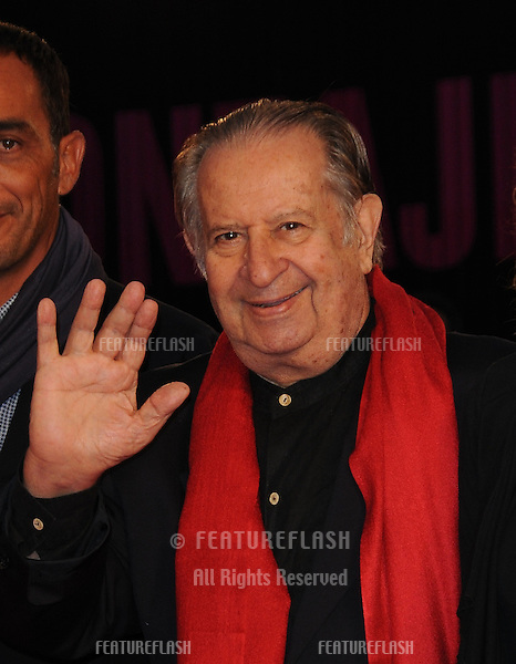 Tinto Brass at the Vallanzasca premiere during the 67th annual Venice Film Festival..September 6, 2010  Venice, IT.Picture: Anne-Marie Michel / Featureflash