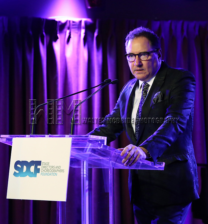 Kevin McCollum on stage during the Second Annual SDCF Awards, A celebration of Excellence in Directing and Choreography, at the Green Room 42 on November 11, 2018 in New York City.