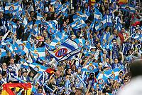 RCD Espanyol's fans during Spanish King's Cup final match between RCD Espanyol and Real Zaragoza at Santiago Bernabeu Stadium. Wednesday, April 12, 2006. (Alvaro Hernandez / Alterphotos / Insidefotopress)