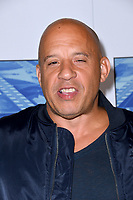 Vin Diesel at the premiere for the HBO documentary &quot;Spielberg&quot; at Paramount Studios, Hollywood. Los Angeles, USA 26 September  2017<br /> Picture: Paul Smith/Featureflash/SilverHub 0208 004 5359 sales@silverhubmedia.com