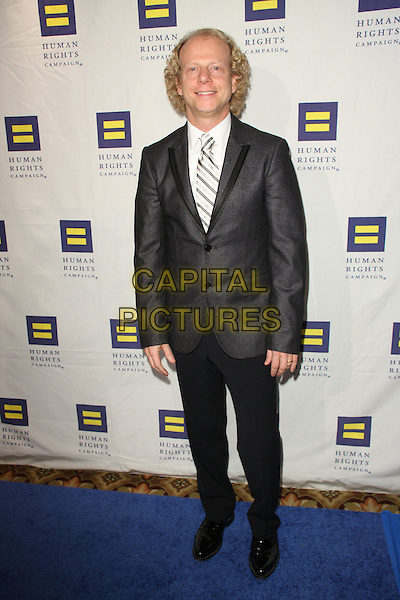BRUCE COHEN .The Human Rights Campaign's Annual Los Angeles Gala & Hero Awards held at the Hyatt Regency Plaza Hotel, Century City, California, USA, .14th March 2009..full length grey gray suit tie .CAP/ADM/KB.©Kevan Brooks/Admedia/Capital PIctures
