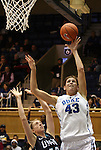 20 December 2011: Duke's Allison Vernerey (FRA) (43). The Duke University Blue Devils defeated the University of North Carolina Wilmington Seahawks 107-45 at Cameron Indoor Stadium in Durham, North Carolina in an NCAA Division I Women's basketball game.