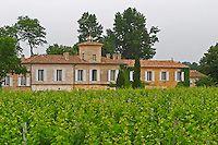 Chateau Gazin and its vineyard  Pomerol  Bordeaux Gironde Aquitaine France