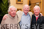 Brendan Kennelly Celebration: Attending the event to celebrate the 80th birthday of poet Brendan Kennelly at the Listowel Arms Hotel on Sunday last were Brendan's brothers Paddy, Kevin & Alan Kennelly.
