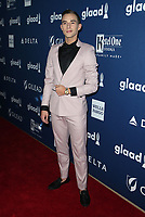 13 April 2018 - Beverly Hills, California - Adam Rippon. 29th Annual GLAAD Media Awards at The Beverly Hilton Hotel. Photo Credit: F. Sadou/AdMedia
