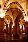The Hall of the Guards in the Musee De La Conciergerie, Paris, France.