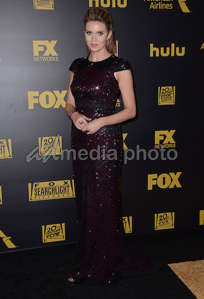 10 January  - Beverly Hills, Ca - Carly Steel. FOX Golden Globes Awards Party 2016 Sponsored by American Airlines held at Beverly Hilton. Photo Credit: Birdie Thompson/AdMedia