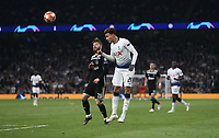 Tottenham Hotspur's Dele Alli heads towards goal<br /> <br /> Photographer Rob Newell/CameraSport<br /> <br /> UEFA Champions League - Tottenham Hotspur v Ajax - Tuesday 30th April 2019 - White Hart Lane - London<br />  <br /> World Copyright © 2018 CameraSport. All rights reserved. 43 Linden Ave. Countesthorpe. Leicester. England. LE8 5PG - Tel: +44 (0) 116 277 4147 - admin@camerasport.com - www.camerasport.com