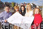 NEW DEVELOPMENT ASSOCIATION: Members of the new Ardfert Development Association have big plans for the village in the near future. Pictured were: Justin Horgan, Linda Baker, Tina Wallace, Fiona O'Mahony