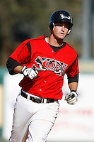 David Freese of the Lake Elsinore Storm during a California League baseball game on April 29, 2007 at The Diamond in Lake Elsinore, California. (Larry Goren/Four Seam Images)