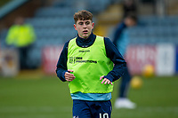 4th January 2020; Dens Park, Dundee, Scotland; Scottish Championship Football, Dundee FC versus Inverness Caledonian Thistle; Finlay Robertson of Dundee during the warm up before the match  - Editorial Use