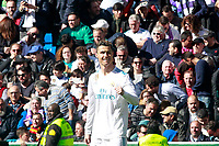 Real Madrid's Cristiano Ronaldo celebrates goal during La Liga match. April 8,2018. (ALTERPHOTOS/Acero) /NortePhoto NORTEPHOTOMEXICO