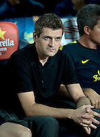 FUSSBALL  INTERNATIONAL  PRIMERA DIVISION  SAISON 2011/2012   23.08.2012 El Clasico  Super Cup 2012 FC Barcelona - Real Madrid  Trainer Tito Vilanova (Barca)