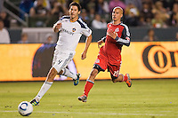 The LA Galaxy and Toronto FC played to a 2-2 draw at Home Depot Center stadium in Carson, California on June 11, 2011....