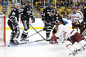 Alex Beaudry (PC - 35), Myles Harvey (PC - 44), Tim Schaller (Providence - 11), Drew Brown (PC - 7), Steven Whitney (BC - 21), Bill Arnold (BC - 24) - The Boston College Eagles defeated the Providence College Friars 4-2 in their Hockey East semi-final on Friday, March 16, 2012, at TD Garden in Boston, Massachusetts.