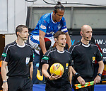 Bruno Alves sneaking up on the match officials