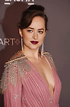 LOS ANGELES, CA - NOVEMBER 04: Actor Dakota Johnson attends the 2017 LACMA Art + Film Gala Honoring Mark Bradford and George Lucas presented by Gucci at LACMA on November 4, 2017 in Los Angeles, California.
