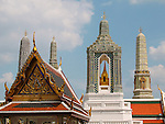 Grand Palace-Skyline, Bangkok