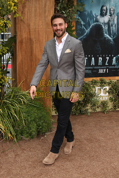 Hollywood, CA - June 27 Ryan Guzman Attending Premiere Of Warner Bros. Pictures' &quot;The Legend Of Tarzan&quot; at The Directors The Dolby Theatre On June 27, 2016. <br /> CAP/MPI/SAD<br /> &copy;SAD/MPI/Capital Pictures