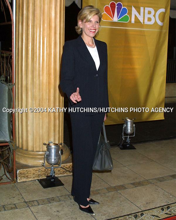 ©2004 KATHY HUTCHINS / HUTCHINS PHOTO.NBC TV TCA WINTER PRESS TOUR.PARTY.HOLLYWOOD, CA.JANUARY 14, 2004..CHRISTINE BARANSKI