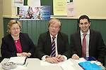 Alison Condra, Louth Local Authorities, Dundalk, Frank Godfrey and James Carroll at the Local Community Meeting in Clogherhead...Photo NEWSFILE/Jenny Matthews.(Photo credit should read Jenny Matthews/NEWSFILE)....This Picture has been sent you under the condtions enclosed by:.Newsfile Ltd..The Studio,.Millmount Abbey,.Drogheda,.Co Meath..Ireland..Tel: +353(0)41-9871240.Fax: +353(0)41-9871260.GSM: +353(0)86-2500958.email: pictures@newsfile.ie.www.newsfile.ie.FTP: 193.120.102.198.