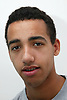 Portrait of young mixed race teenager,