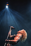 Various live photographs of the rock band, Whitesnake