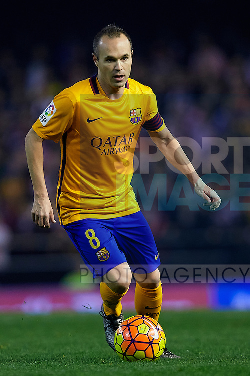 - BBVA La Liga - Valencia CF vs FC Barcelona  - Mestalla Stadium - Valencia - Spain - 5th December 2015 - Pic David Aliaga/Sportimage