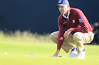 Matt Kuchar (USA) on the 12th green during Thursday's Round 1 of the 148th Open Championship, Royal Portrush Golf Club, Portrush, County Antrim, Northern Ireland. 18/07/2019.<br /> Picture Eoin Clarke / Golffile.ie<br /> <br /> All photo usage must carry mandatory copyright credit (© Golffile | Eoin Clarke)