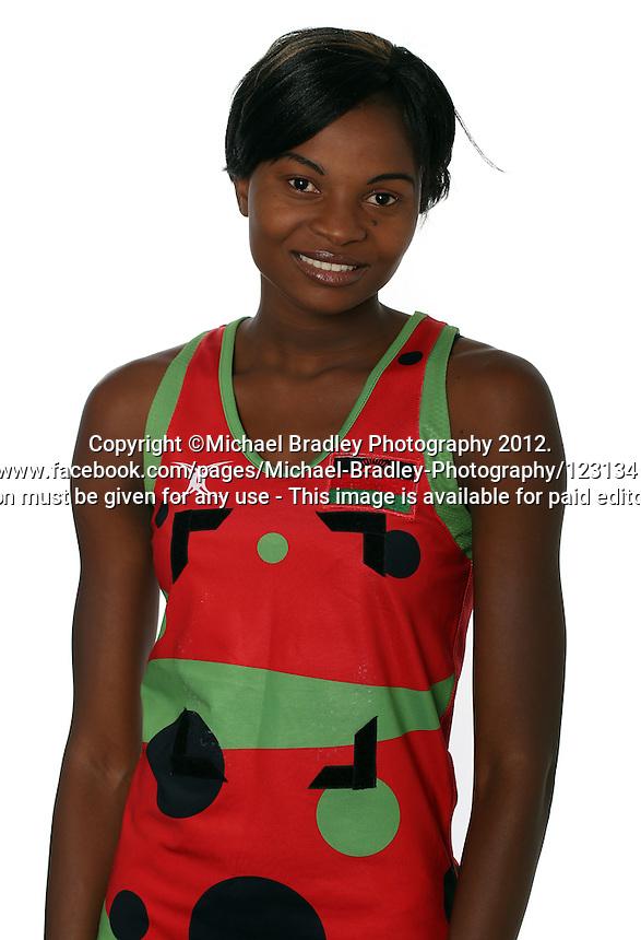 06.11.2012 Fast5 Netball Head Shots 2012. Mandatory Photo Credit ©Michael Bradley.