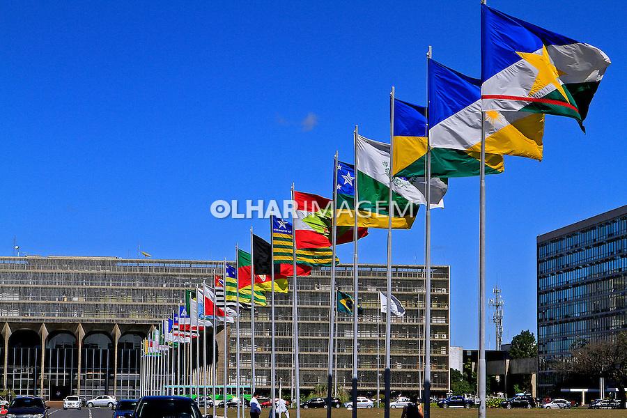 Palacio do Itamarati em Brasilia. Distrito Federal. 2016. Foto Joao Roberto