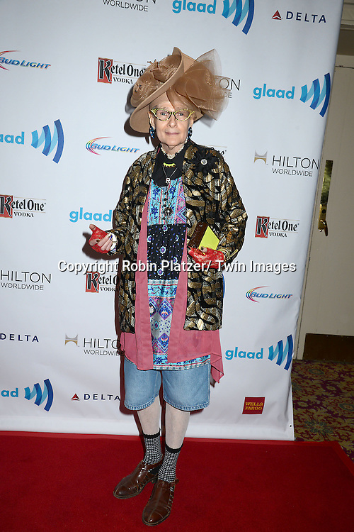 Rollerena attends the 25th Annual GLAAD Media Awards at the Waldorf Astoria Hotel in New York City, NY on May 3, 2014.